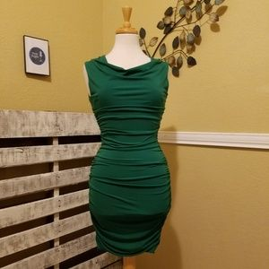 Sweet Storm Green Body Con Dress Medium